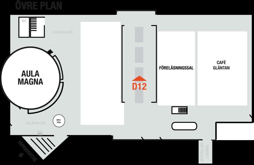 Här är monterplats D12